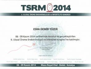 tsrm sertifikası